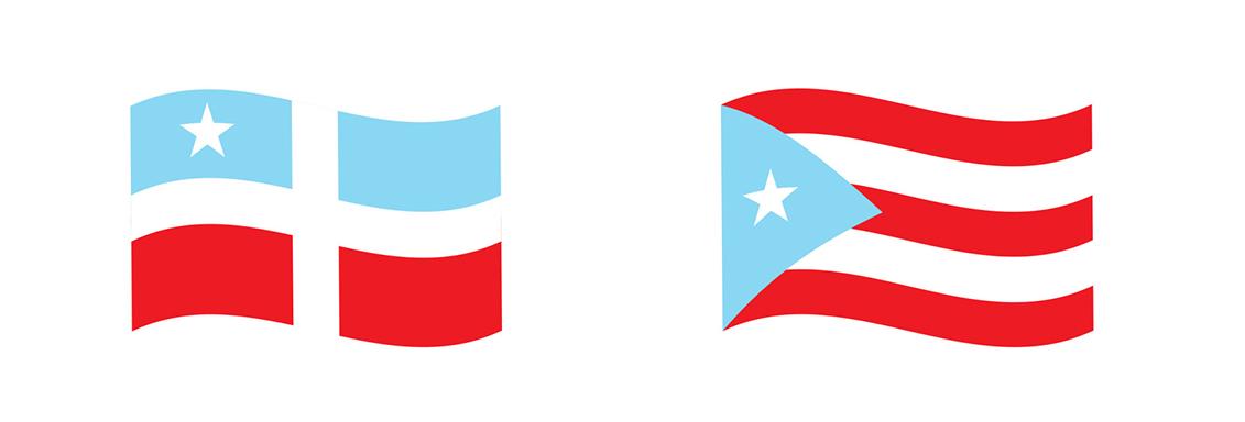 Del Grito de Lares a la bandera más reconocible, creada por un grupo en la diáspora.