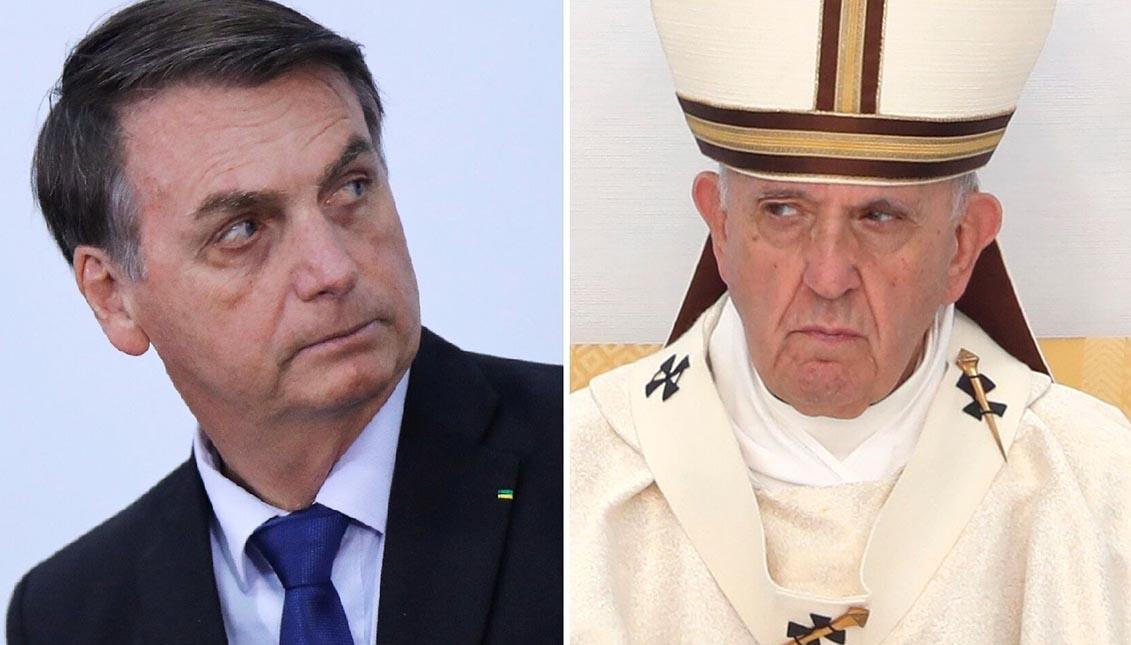 """Los Obispos brasileños aseguran haber sido tratados como """"enemigos de la patria"""" por el presidente Bolsonaro,"""