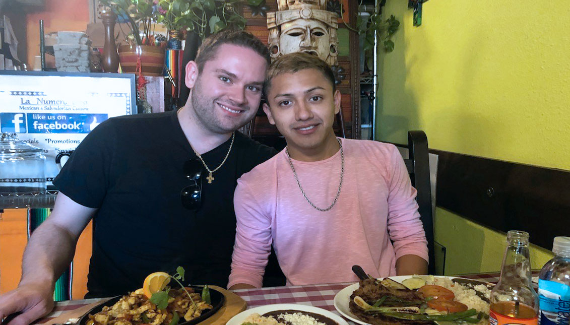 Chance Kidd (left) and Osny Eduardo Sorto (right)