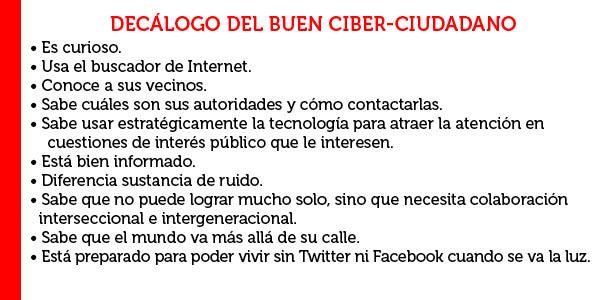 Ciudadanía, ciudadano digital, tecnología cívica