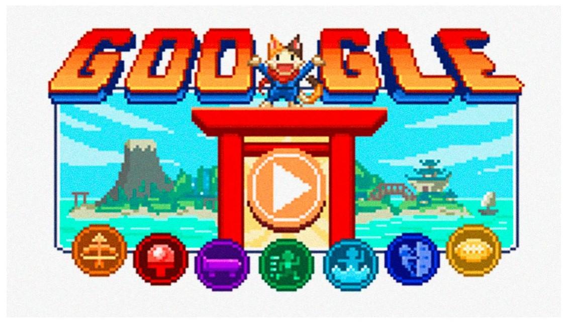 Tokyo 2021 Google doodle. Google.com