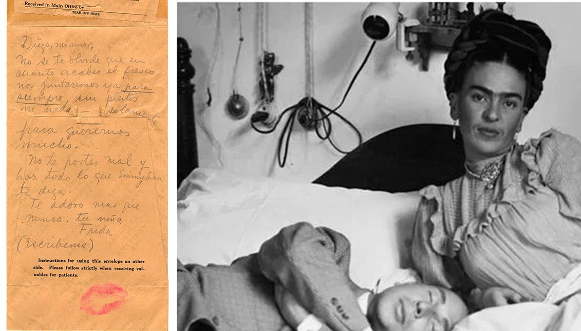 José Bartolí y Frida Kahlo.