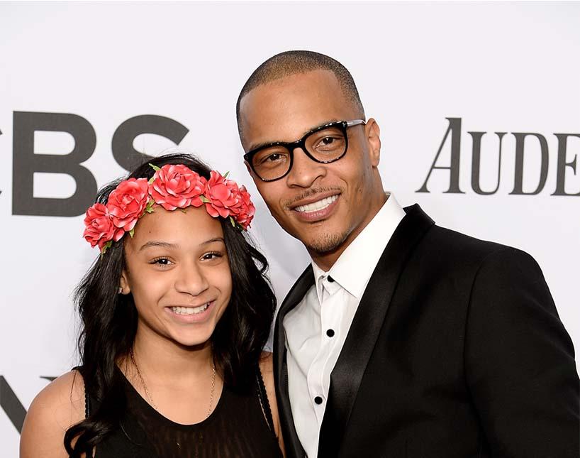 Padre e hija en los Tony Awards. Foto de Dimitrios Ka