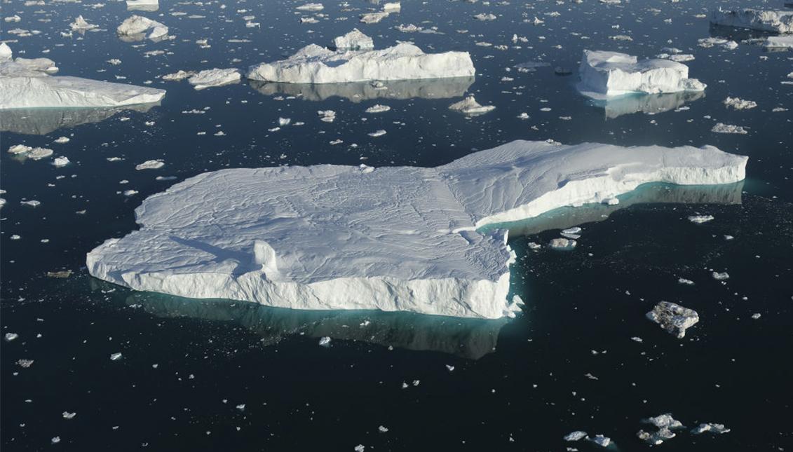 Groenlandia azotada por el calor y el deshielo. Foto: Sean Gallup/Getty Images.