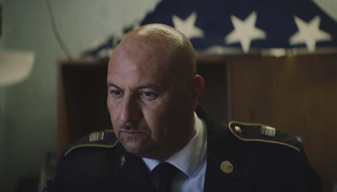 Héctor Barajas dirige un centro que asiste a veteranos deportados en Tijuana.