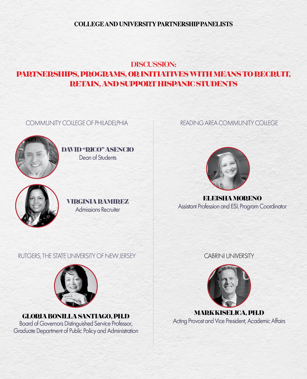 2019 Higher Education Summit University Partnership Panel