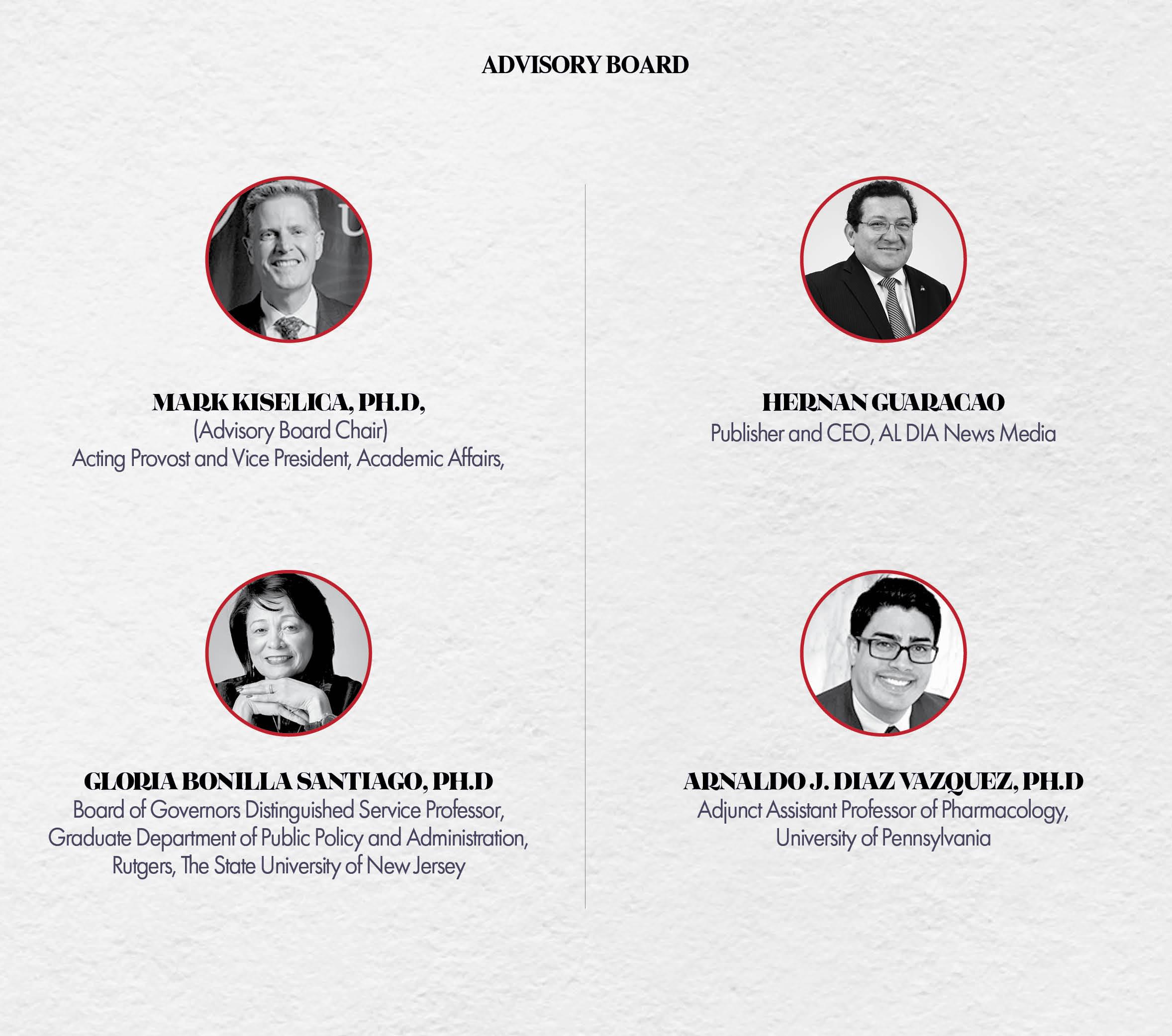 2019 Higher Education Summit Advisory Board