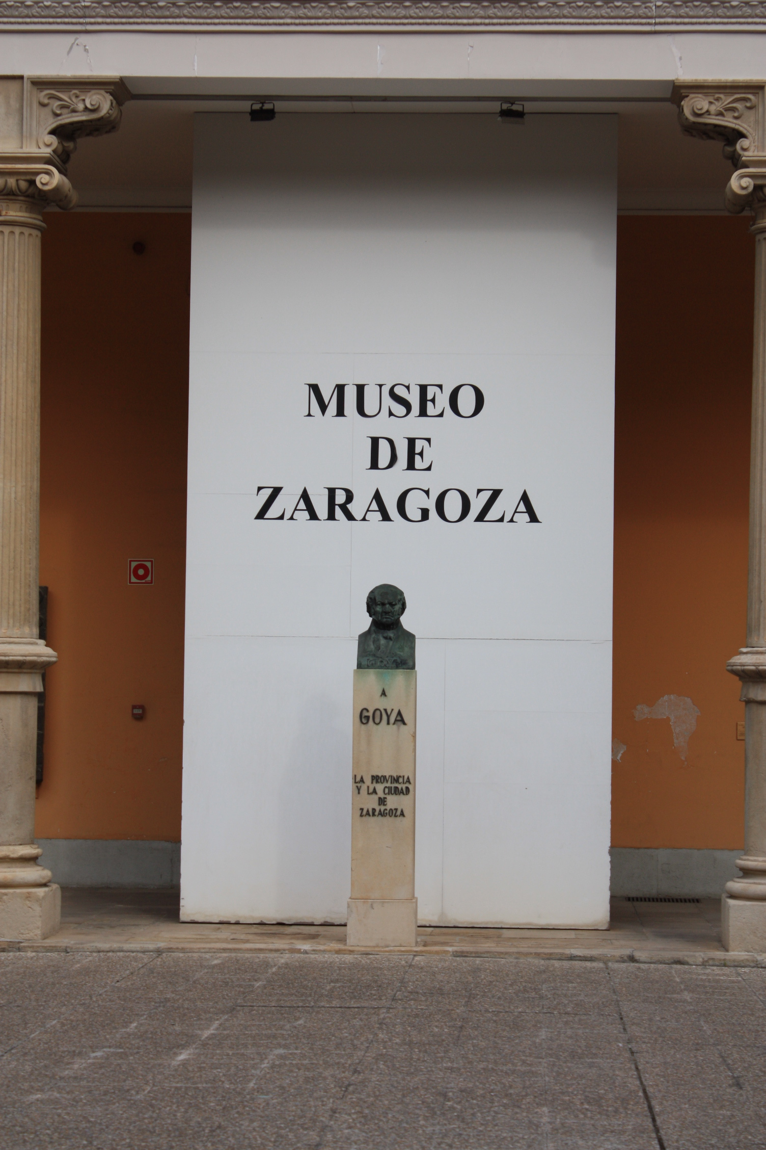 Francisdo de Goya, the famous Spanish painter who lived in Zaragoza, is honored in the Museum of his city.