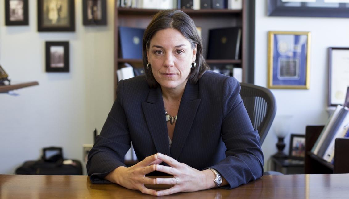 Jacqueline Romero, President of the Hispanic Bar Association of Pennsylvania. Photo: Samantha Laub / AL DÍA News