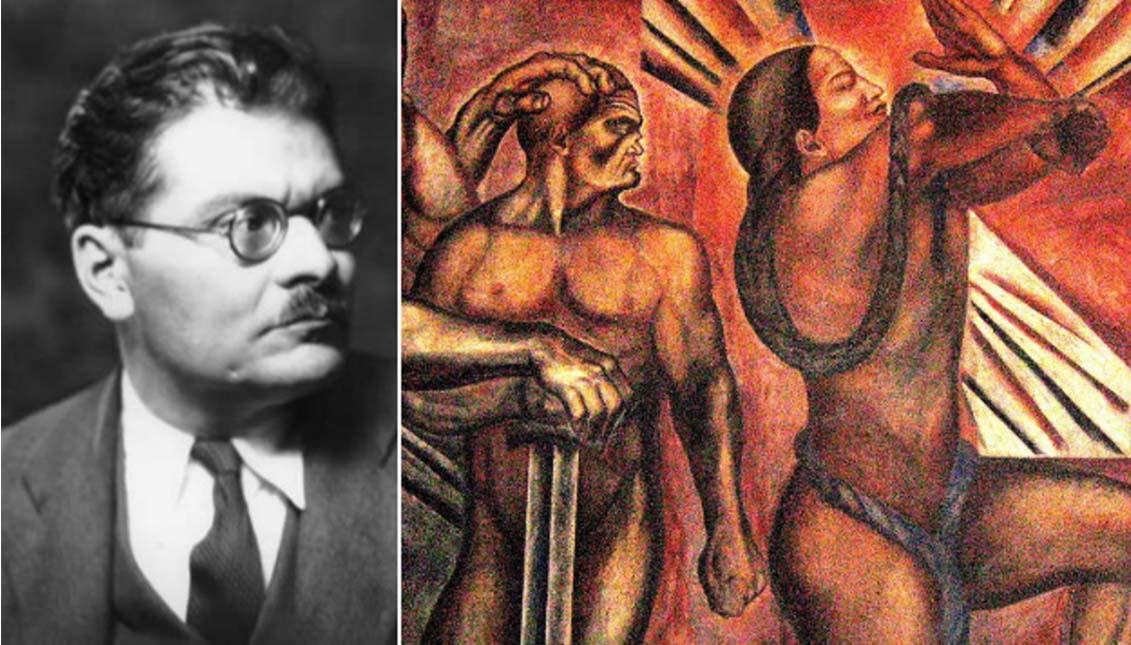 La violencia contenida en las obras de José Clemente Orozco.