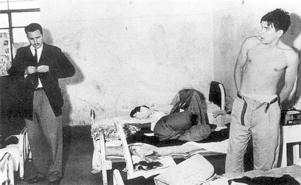 Fidel y el Che en México, 1955.