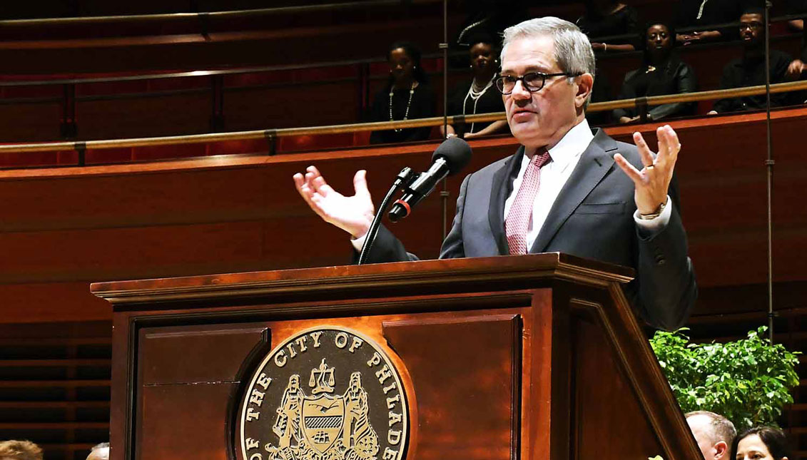Larry Krasner, Philadelphia's District Attorney. Photo courtesy: Tony Webb / City of Philadelphia
