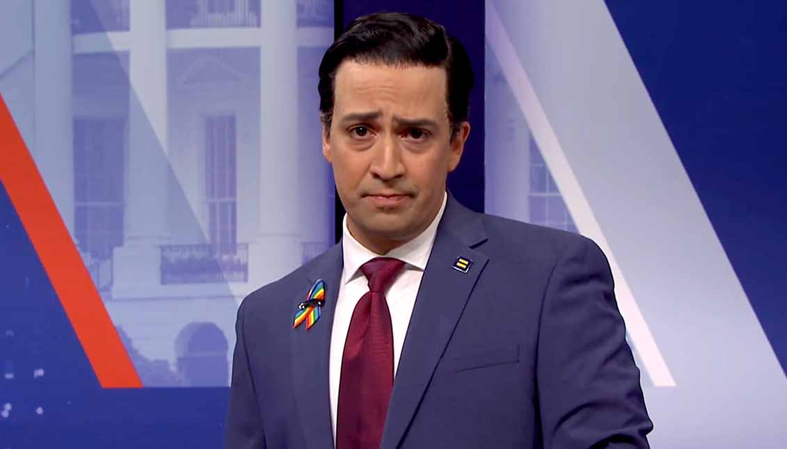 """Soy joven, soy diverso y soy 'latinobama'"", diveridísimo Miranda."