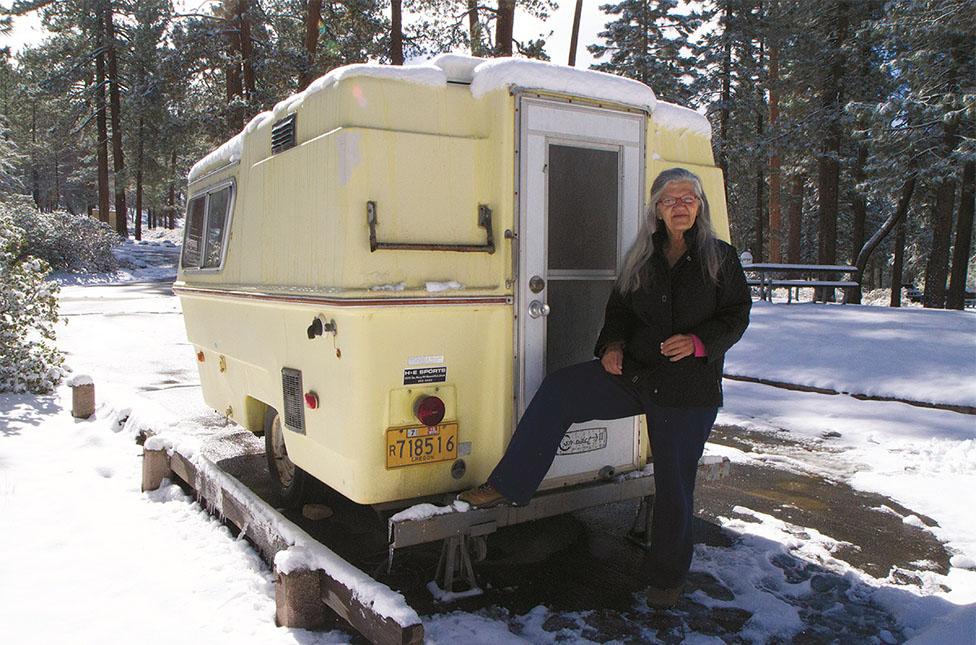 Linda May. Photo: Nomadland.