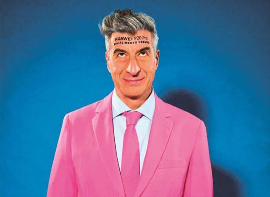 Maurizio Cattelan, muy de la broma. Via Corriere.
