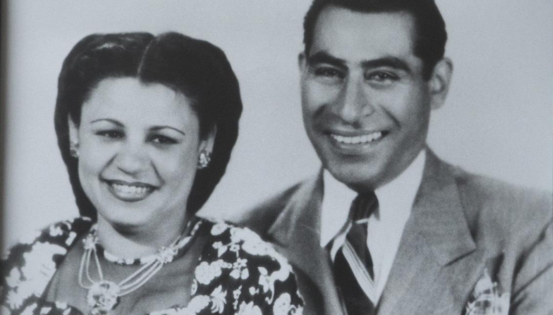 El matrimonio Méndez. Archivo de Sylvia Méndez.