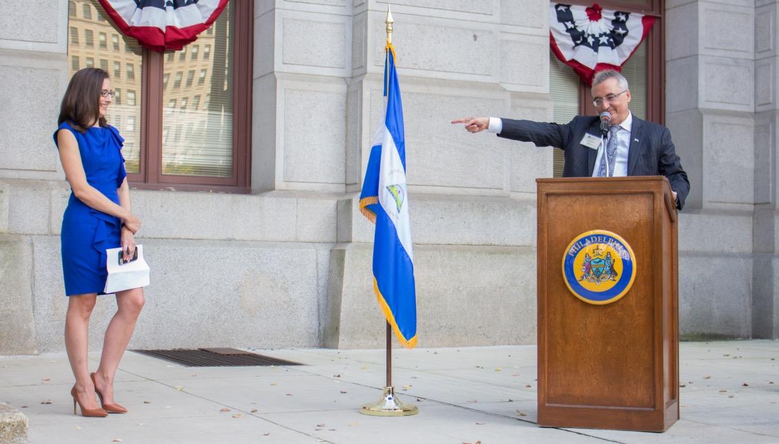 Miriam Enrique, directora de la Oficina de Asuntos Inmigrantes de la alcaldía de Filadelfia.