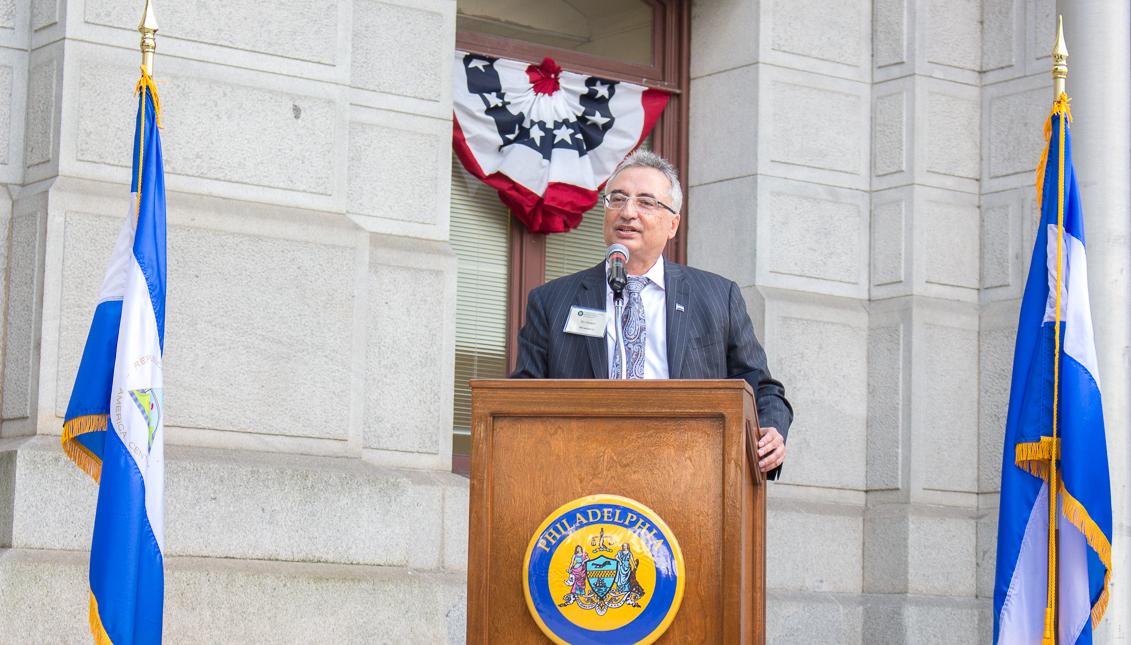 Eli Gabay, cónsul honorario de Nicaragua en Filadelfia.