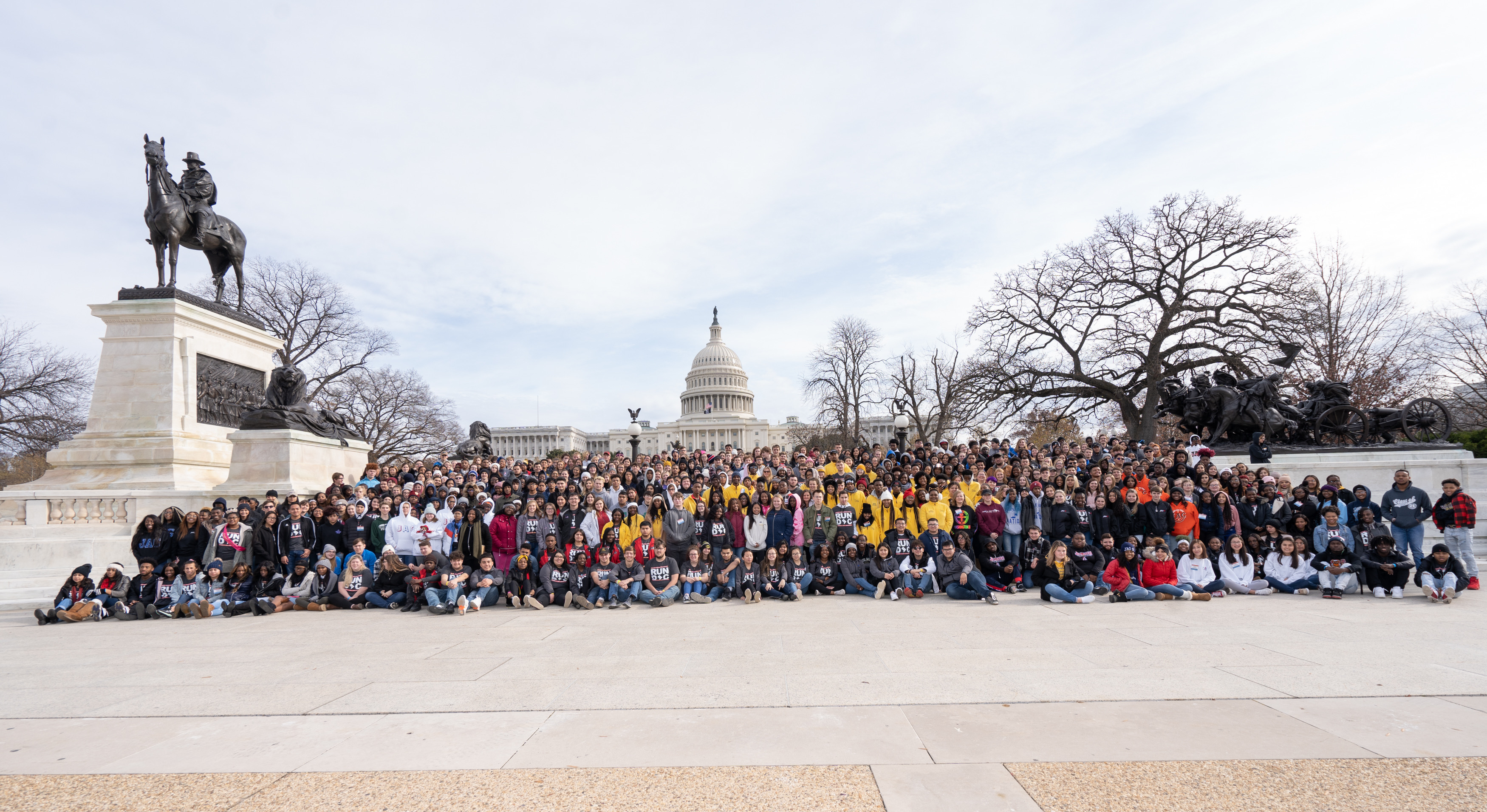 Students during the 2019National Student Leadership Conference. Photo Courtesy of JAG.
