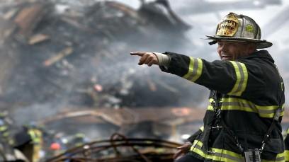 Firemen the heroes of 9/11