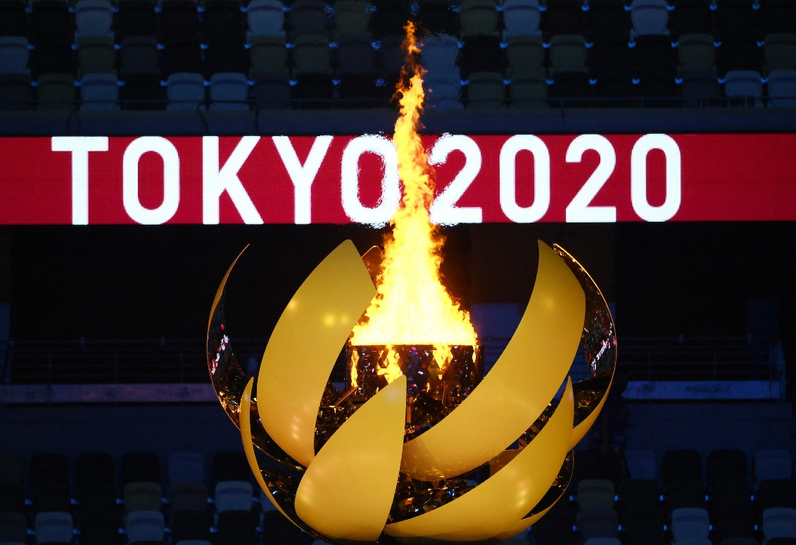 Tokyo 2020 Olympics Inauguration. Getty Images