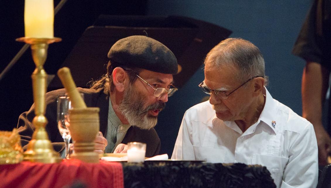 Luis Sanabria y Óscar López Rivera. Foto: Edwin López Moya / AL DÍA News