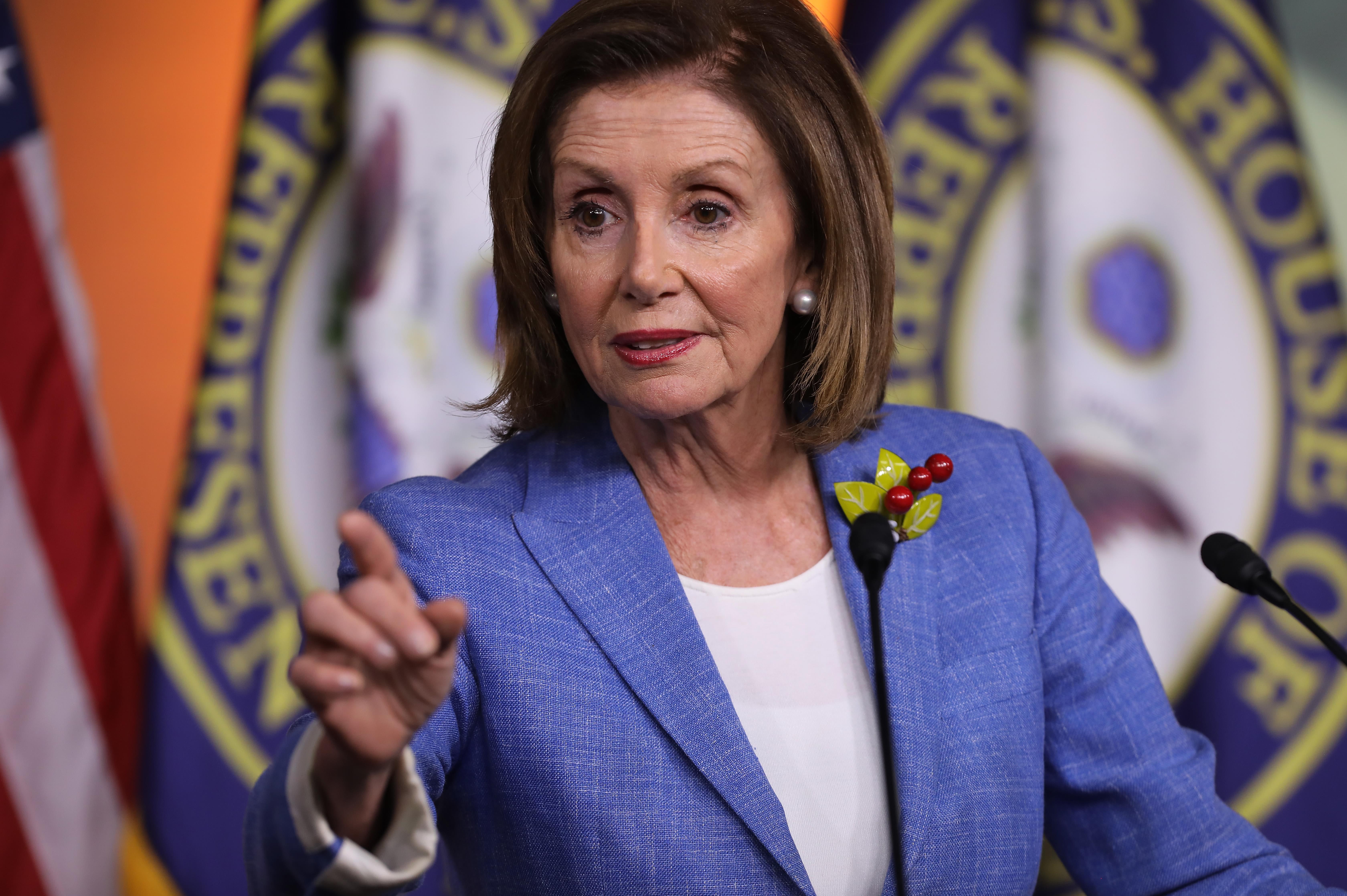 Los politicos del año 2019: Nancy Pelosi. Photo: Getty Images