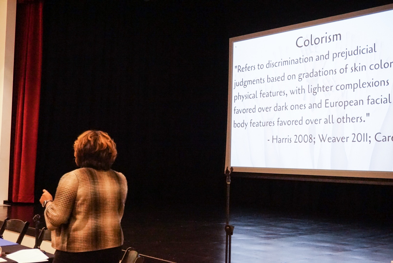 Colorism among the Black and Latinx communities is one of the topics that was discussed. Photo Courtesy of Carmen Febo San Miguel/Taller Puertorriqueño.