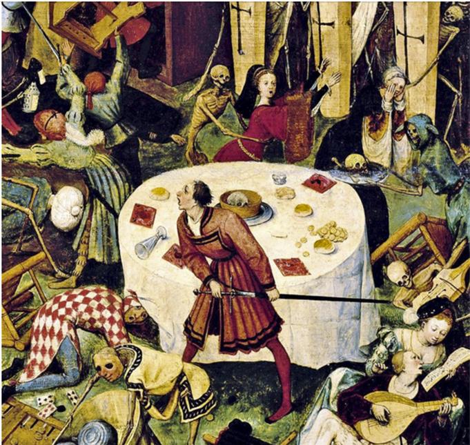 El triunfo de la muerte. Detalle del óleo de Peter Brueghel.