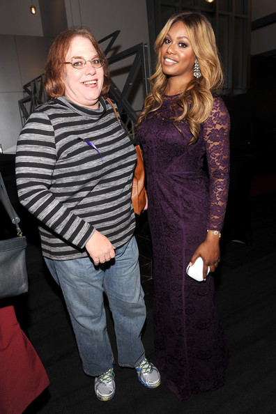 Rebecca Juro at Laverne Cox Presentation of The T Word in New York City. Photo: Getty Images.
