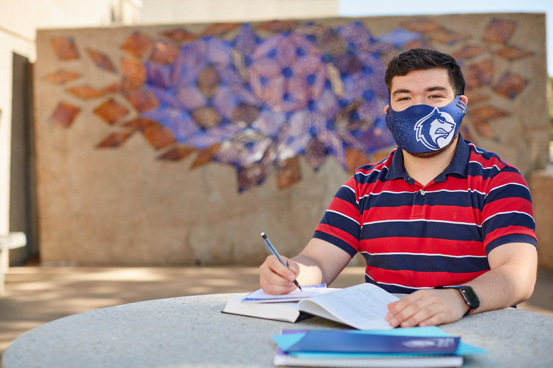 A student. Photo Courtesy of CSU-Pueblo.
