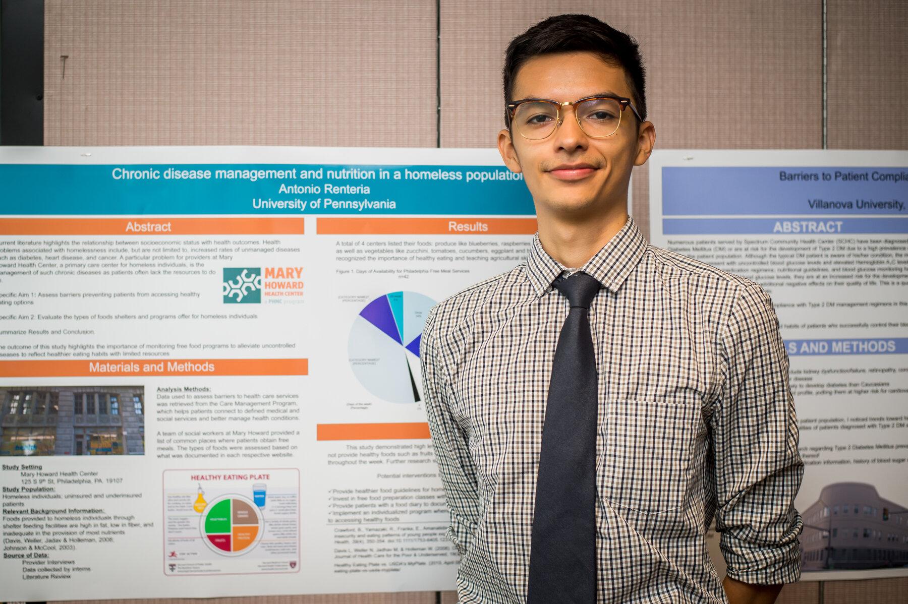 Antonio Poster Presentation, Nursing Internship Program Recognition Event, Aug. 3, 2018