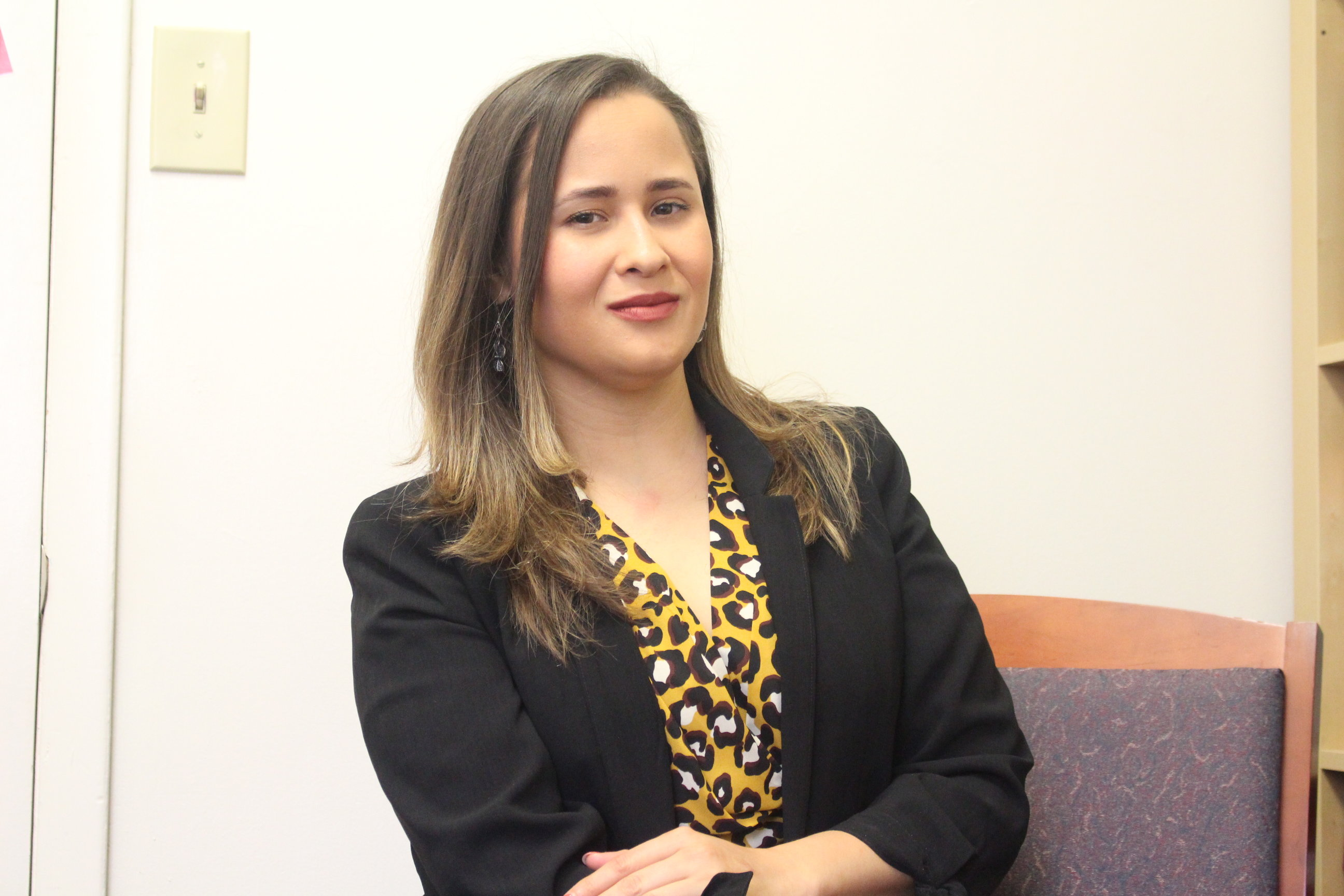Siria Rivera has worked at a number of nonprofit and grassroots organizations, which led her to her current role. Photo: Jensen Toussaint/AL DÍA News.