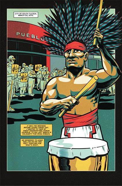 """""""Los poderosos han escrito la historia y continuarán blanqueando a las personas de color"""", Herny Barajas."""