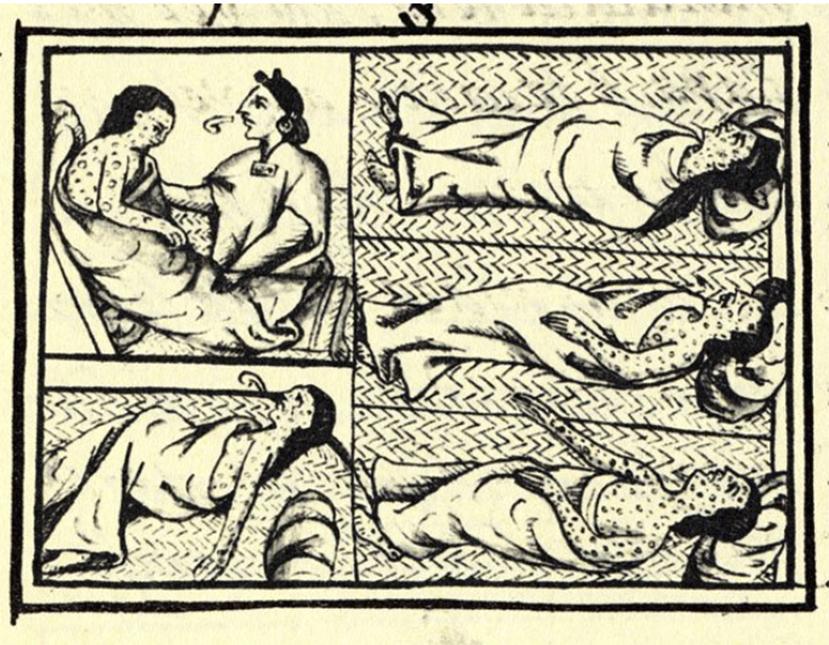 La viruela causó el declive de imperios enteros. Vía Wikipedia.