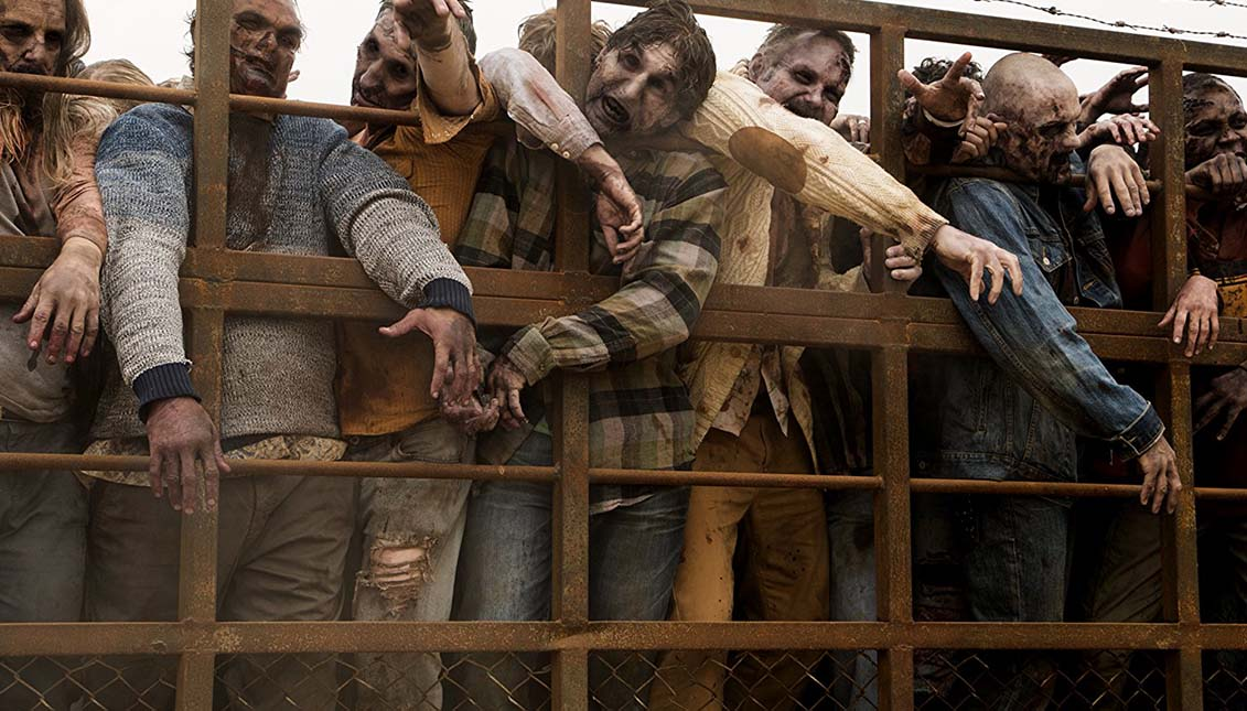 """La serie """"Fear the Walking Dead"""" también tenía como escenario la frontera entre Mexico y Estados Unidos."""