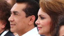 The former mayor of Iguala Jose Luis Abarca and his wife María de los Ángeles Pineda. Photo:EFE
