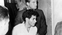 Sirhan Sirhan, charged with the assassination of Senator Robert Kennedy during a campaign stop in California, is the subject of intensive investigation by the US Government after an Arab government provided new evidence about his identity. Keystone/Getty Images