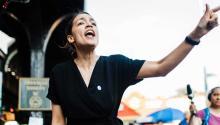 Alexandria Ocasio-Cortez ha sido uno de los fenómenos más importantes en estas primarias. Su campaña y su determinación han inspirado a muchos otros candidatos a nivel nacional. Foto: Campaña Ocasio 2018.