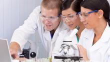 women of color in science. Deposit Photos