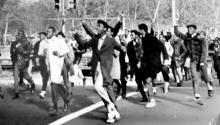 El 17 de noviembre de 1967 tuvo lugar en la Benjamin Franklin Parkway una de las mayores protestas de estudiantes de secundaria de toda América.FacebooK: 17thofnovember1967philadelphiaschoolboarddemonstration