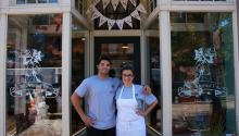 Jennifer Low and Sean Williams opened their cake shop in 2015.