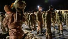 Allied troops in Afghanistan accelerate their exit from the country. Photo: Getty Images