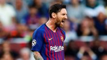 Lionel Messi says goodbye to Barcelona. Photo: EFE