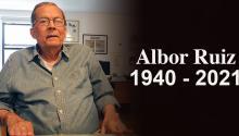 Albor Ruiz fue periodista, columnista y poeta cubano. Foto: AL DÍA News.