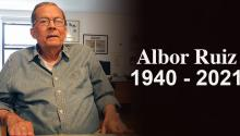 Albor Ruiz was a journalist, columnist and Cuban poet. Photo: AL DÍA News.