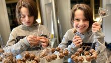 Cake pops are Salerno's favorite thing to bake. Photo courtesy of the Salerno family.
