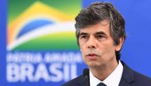 """Renuncia Nelson Teich, Ministro de Salud de Brasil, por """"incompatibilidades"""" con Jair Bolsonaro sobre el coronavirus Covid-19. (Foto: AFP / EVARISTO SA)."""