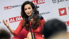 Claudia Romo Edelman is the Founder and President of the We Are All Human Foundation. Photo: AL DÍA News.