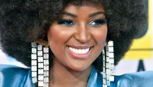 Diana Danelys De Los Santos (born October 4, 1990), known professionally as Amara La Negra, is an American singer, actress, dancer, author, and television host.